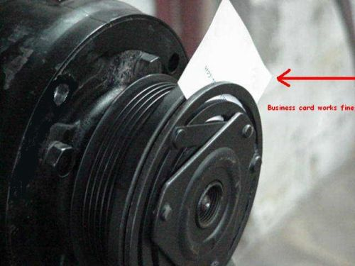 Compressor Clutch Slipping? - Automotive Air Conditioning
