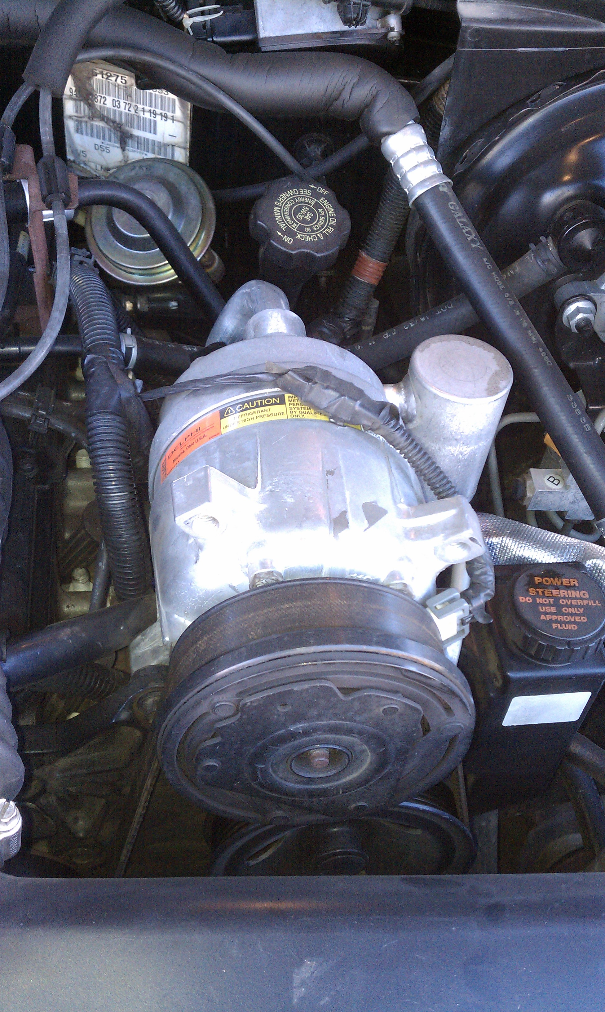 No Cold Air From Ac >> 99 s10 compressor not engaging - Automotive Air Conditioning Information Forum