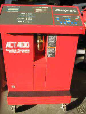 Snap On Act 4100 Automotive Air Conditioning Information