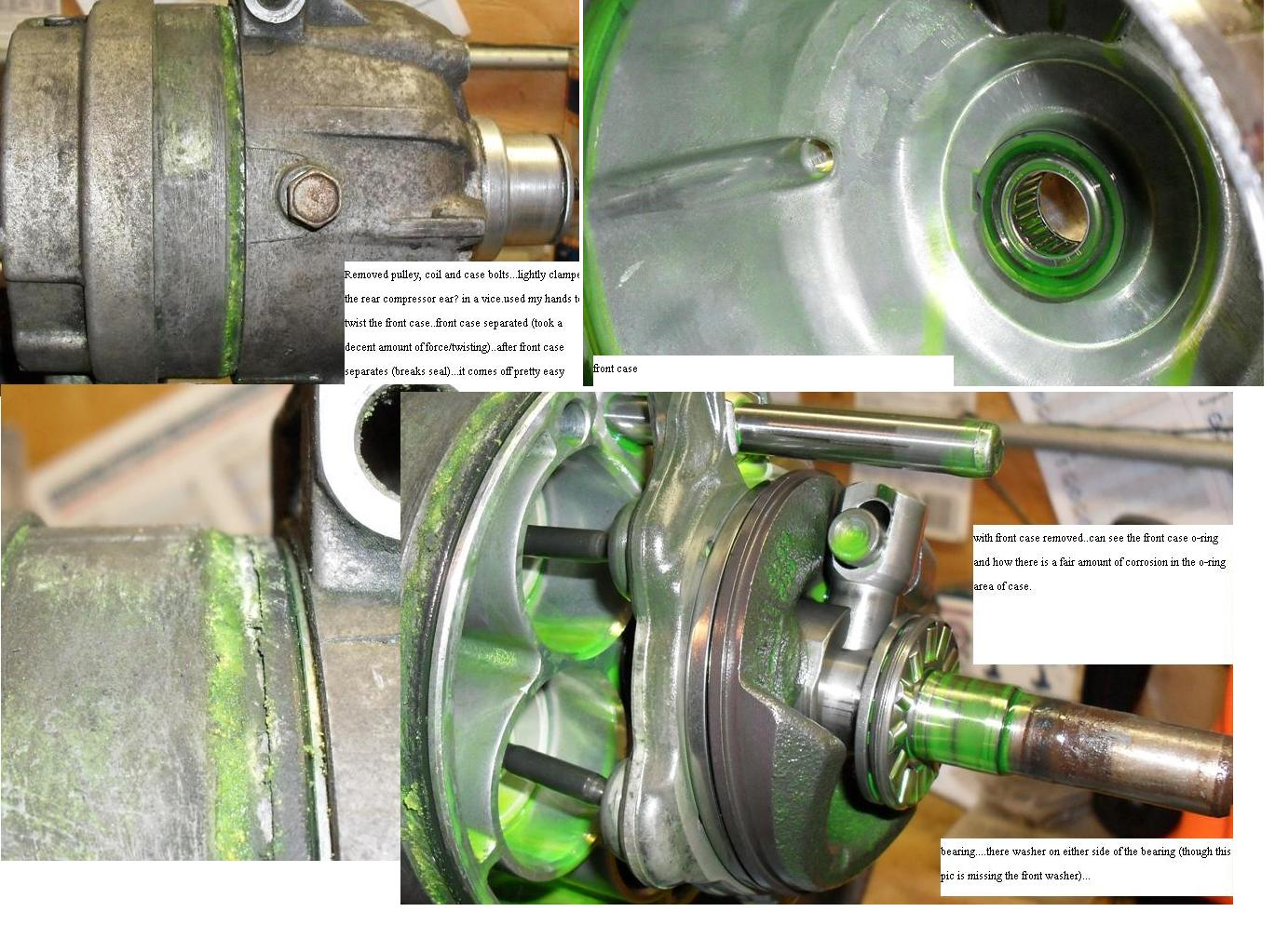 Ac Auto Repair >> How I replaced the shaft seal and case orings on my V5 ...
