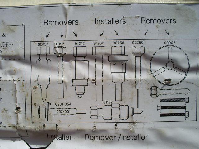 96 Bonneville Compressor V5 front shaft seal picture?Pages: 12